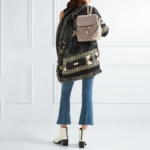 Chloe Bags - Chloe Small Faye Leather And Suede Backpack